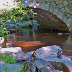 Stone bridge Vaughn Woods Lee Ann McPherson