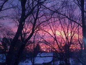Red sky jan 15